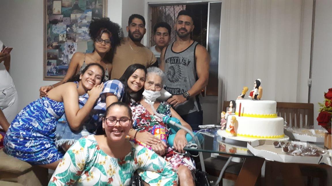 Maria Angélica, paciente Home Care
