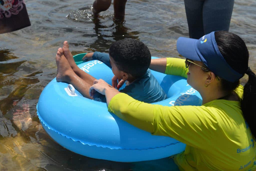 Participação da S.O.S. Vida no projeto Para Praia