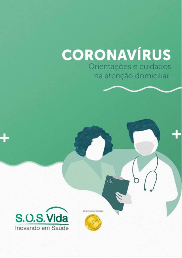 Ebook com orientações e cuidados com o Coronavírus na Atenção Domiciliar