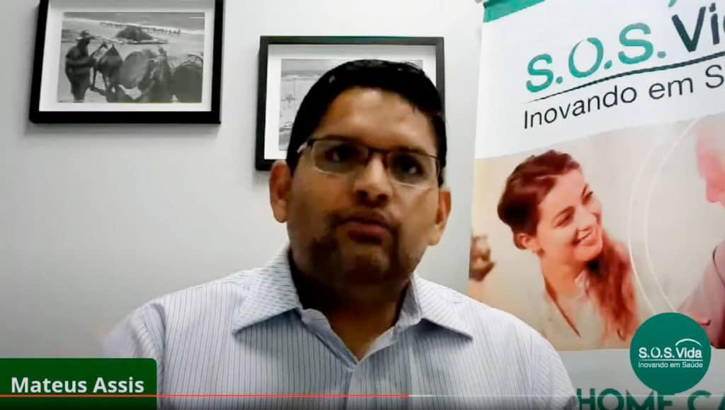 Dr. Mateus Assis participa do webinar discutindo integração do Hospital e Home Care