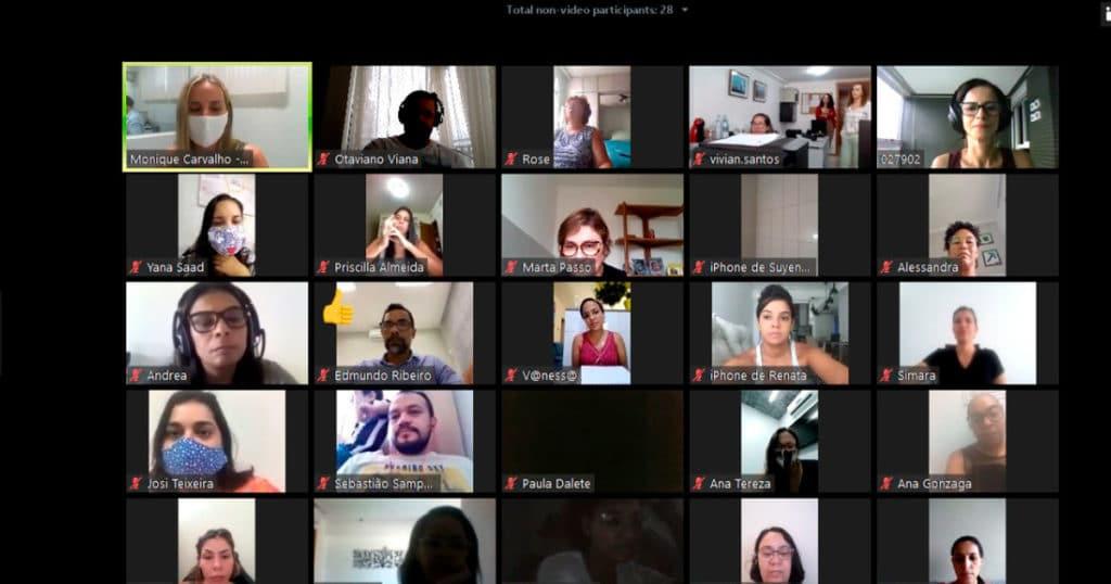 Sessões Online na S.O.S. Vida
