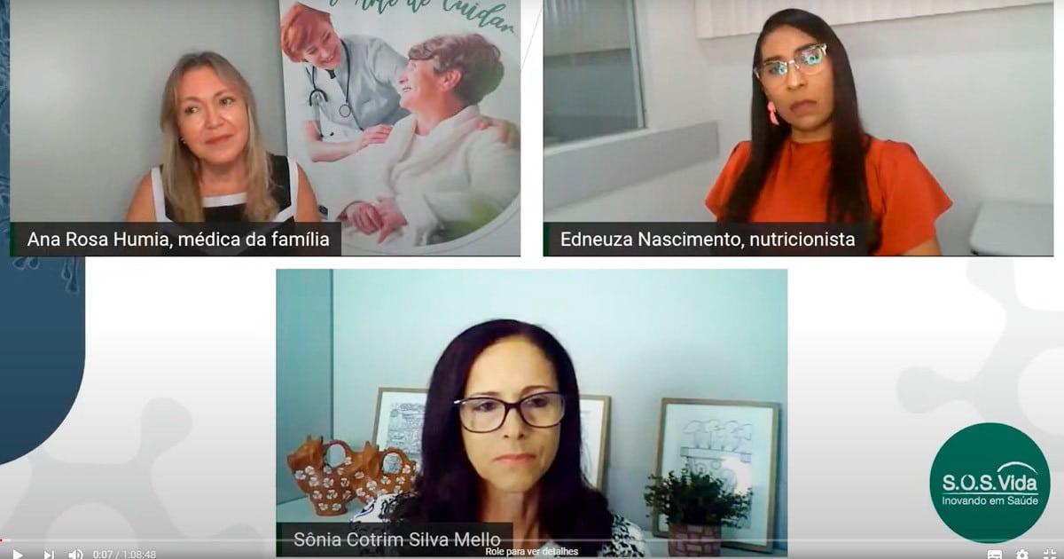 Ana Rosa Humia e Edneuza Nascimento falam sobre fortalecimento da imunidade