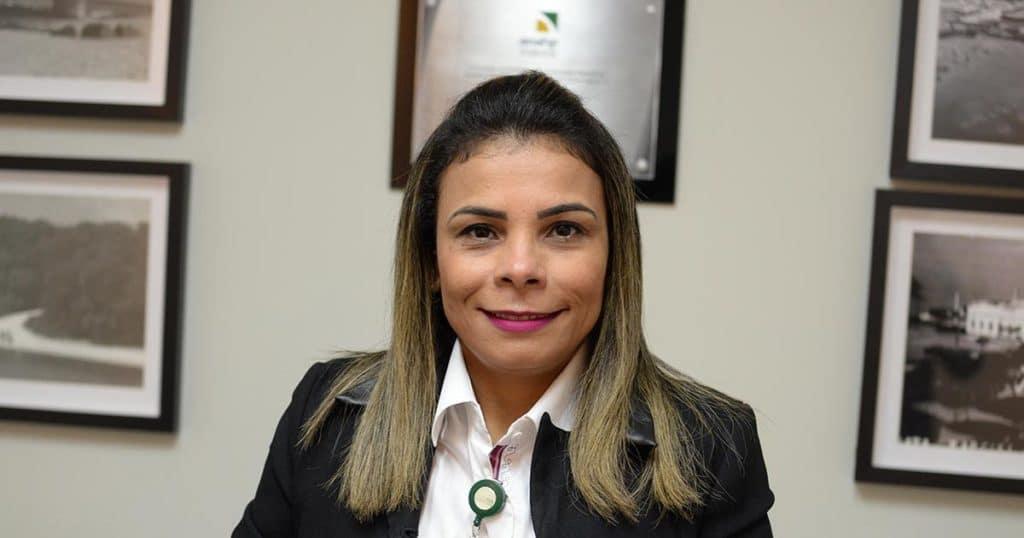 Andréa Couto, supervisora de fisioterapia