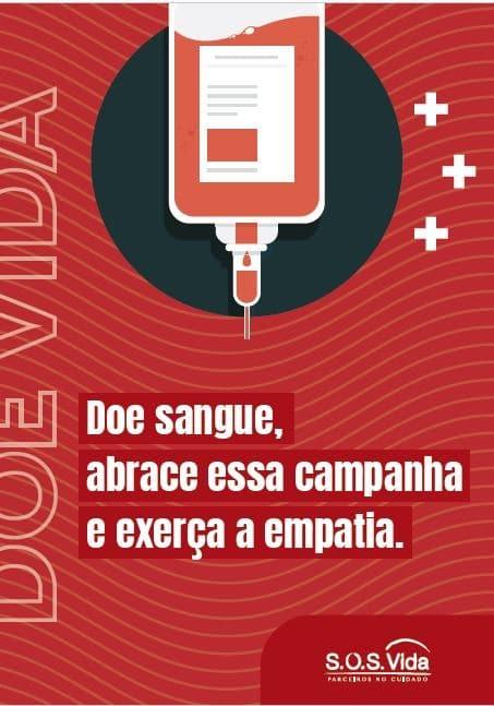 Doe Sangue, abrace essa campanha | eBook S.O.S. Vida 1