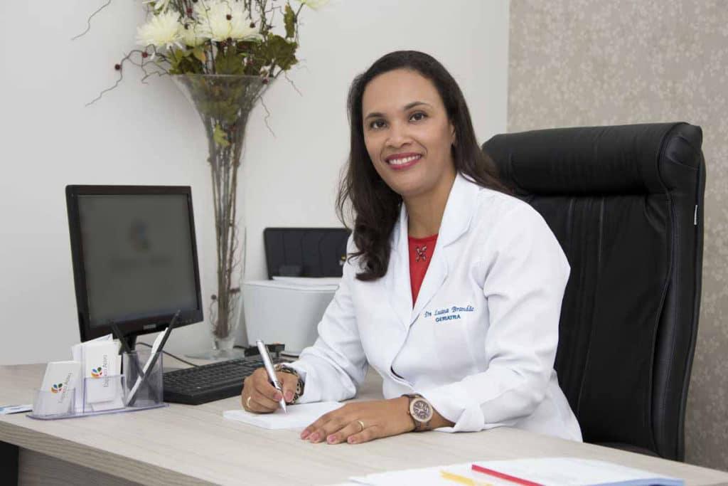 Luana Brandão, geriatra